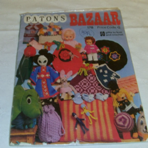 Patons Bazaar 178 50 Gifts to knit and crochet